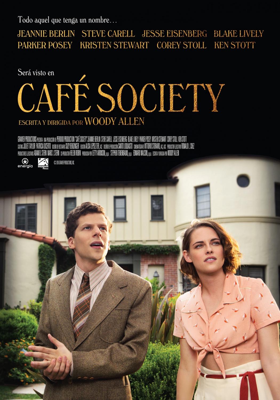 Nuevo póster de 'Café Soicety' de Woody Allen