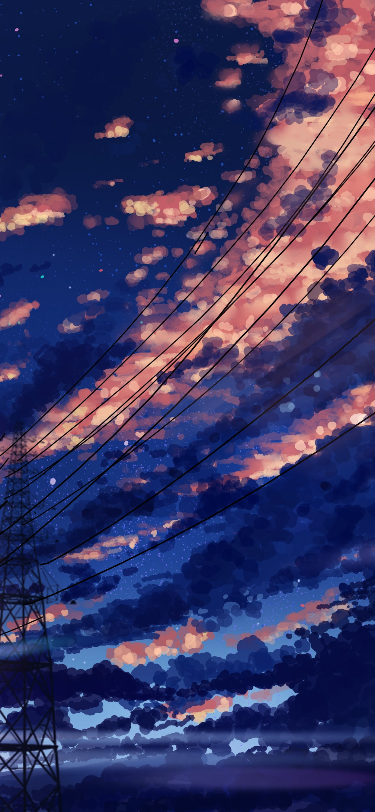 Sky Clouds Sunrise Scenery Anime 8k Wallpaper 142