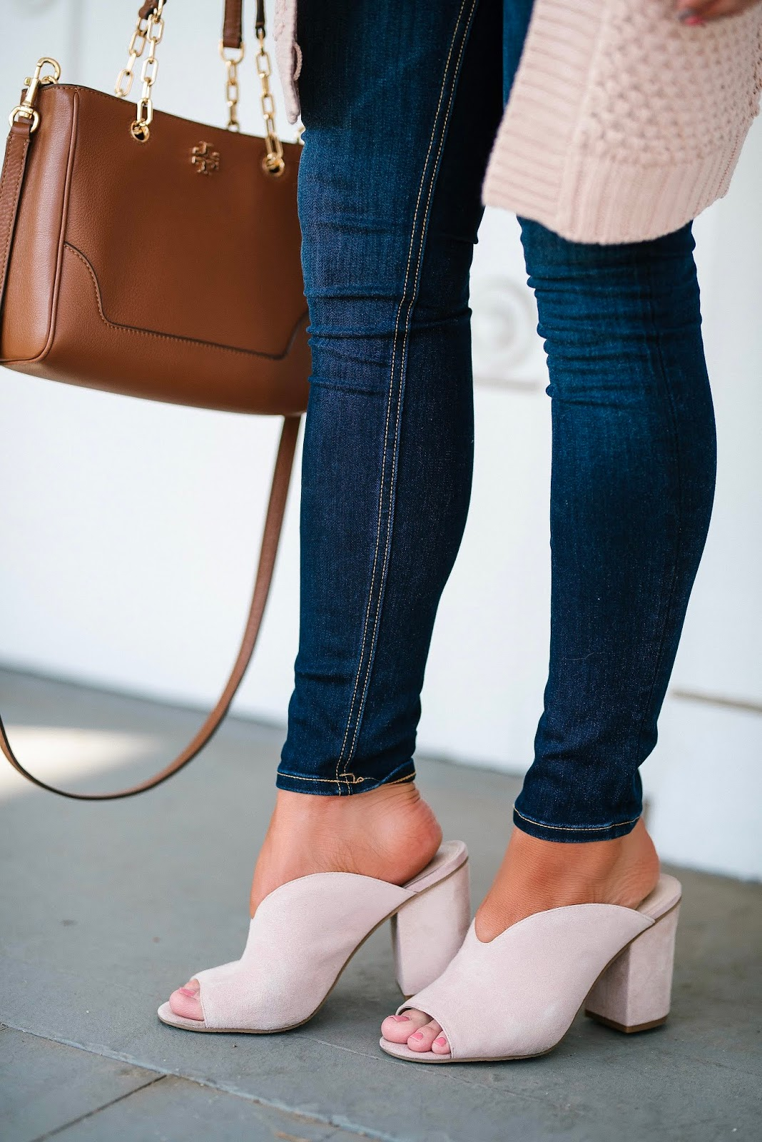 Under $80 Pink Mules - Something Delightful Blog