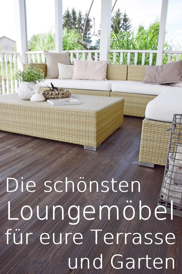 die schönsten loungemöbel für terrasse und garten sofa lounge sitzmöbel sommer
