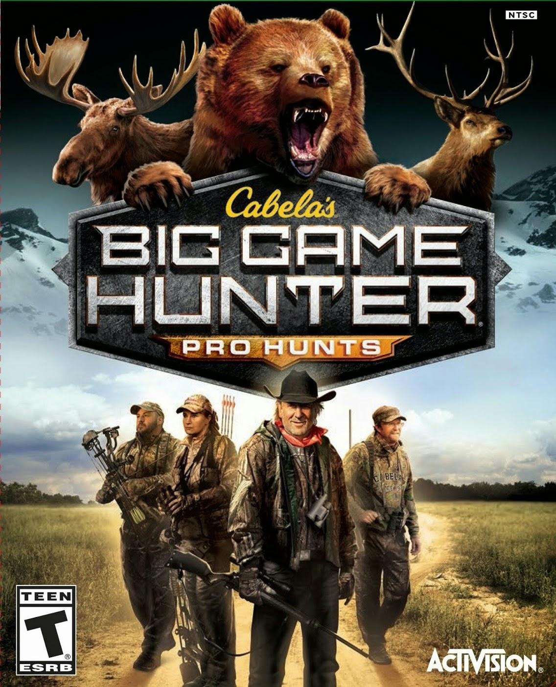 Cover Caratula Cabela's Big Game Hunter Pro Hunts PC