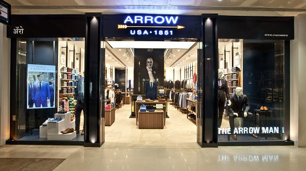 Experience Arrow's heritage at the newly designed store in High Street Phoenix, Mumbai