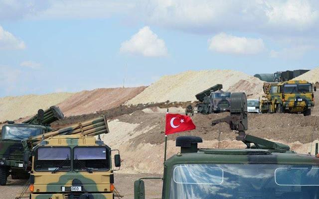 Ισχυρά πλήγματα δέχονται οι τουρκικές δυνάμεις στη Συρία