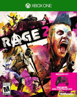 Rage 2 Game Cover Xbox One Standard Edition