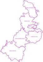 Mapa geodezyjna Powiatu Łaskiego