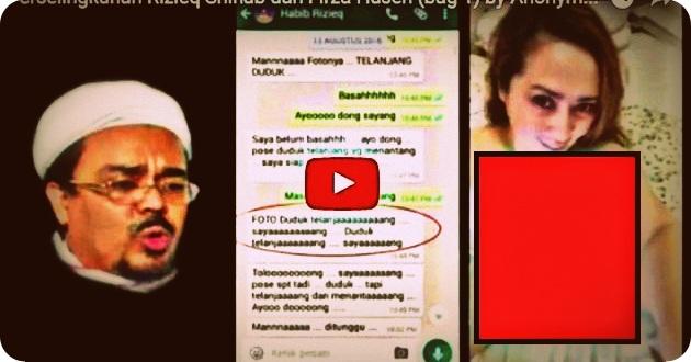Video dan Foto Diduga Menjadi Viral, Firza Husein Kini Stress dan Sakit