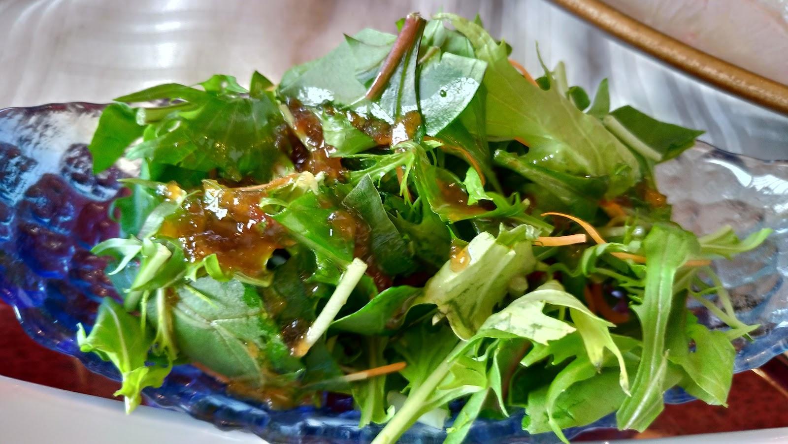 長崎市お食事処あかまのサラダ