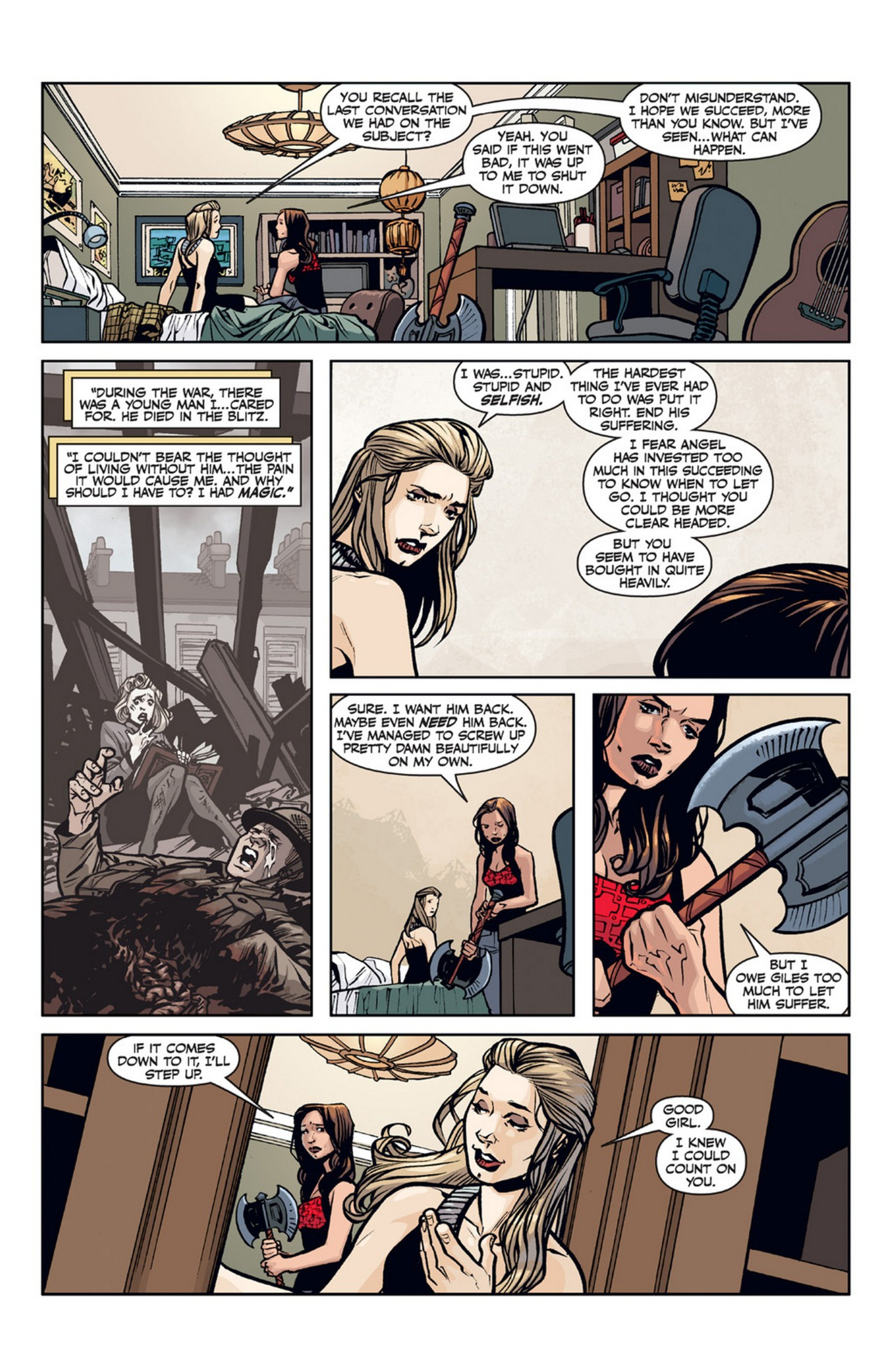 Read online Angel and Faith comic -  Issue #21 - 15