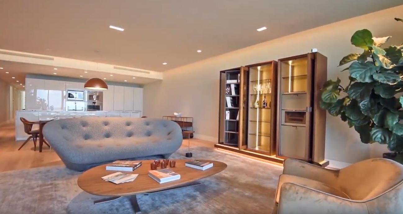 13 Photos vs. Inside a $6.5M Luxury Oceanfront Apartment in South Beach - High End Condo & Interior Design Video Tour