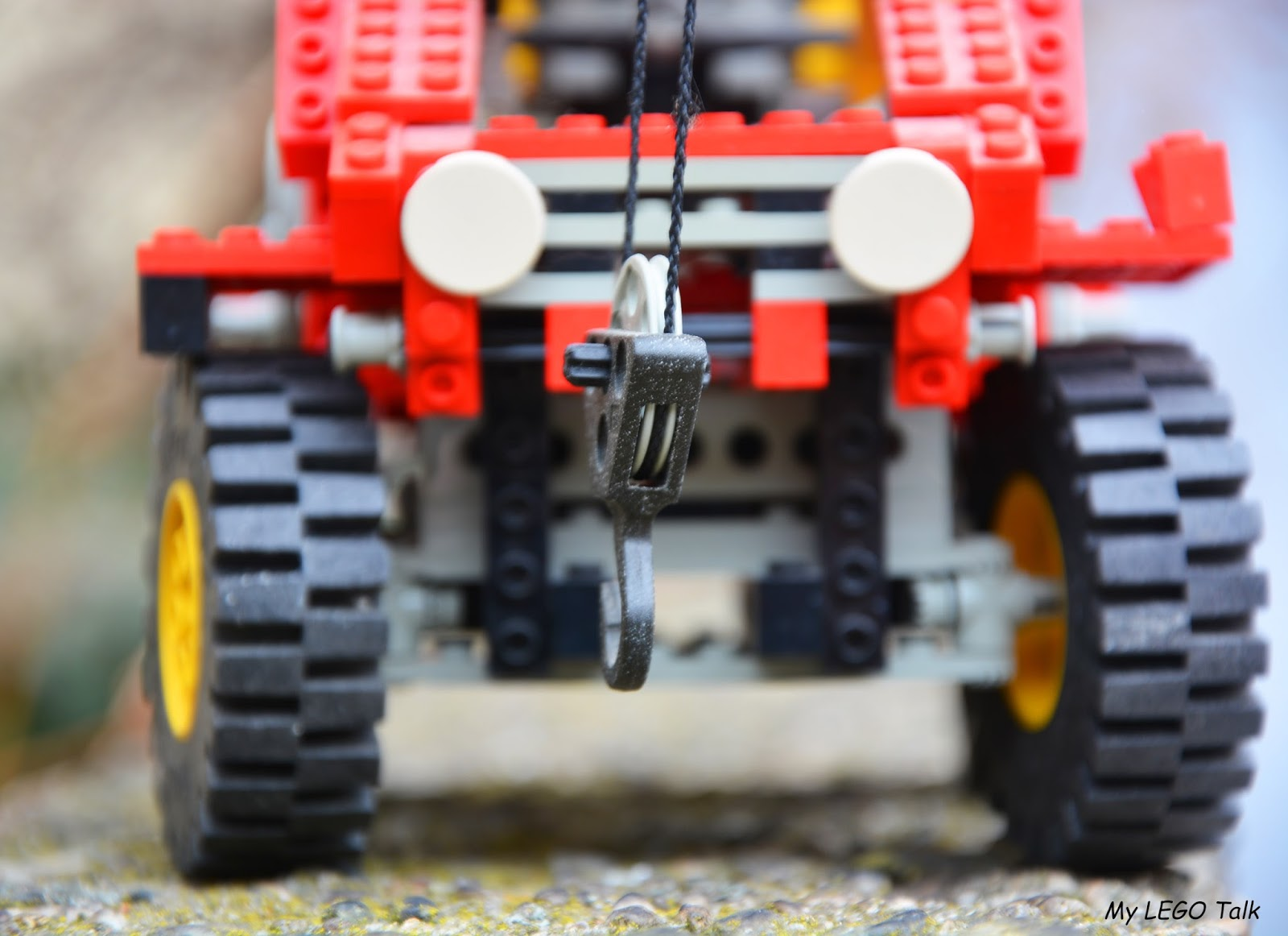 Legendary 8854 Lego Technic Power Crane About Dr Jey First