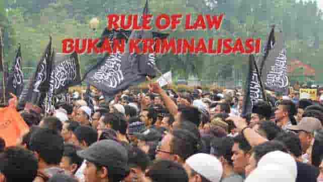 Rule Of Law Kok Disebut Kriminalisasi, Kepiye Toh?