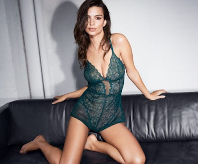 DKNY Intimates Fall Winter Latest Campaign features a sultry EmilyRatajkowski