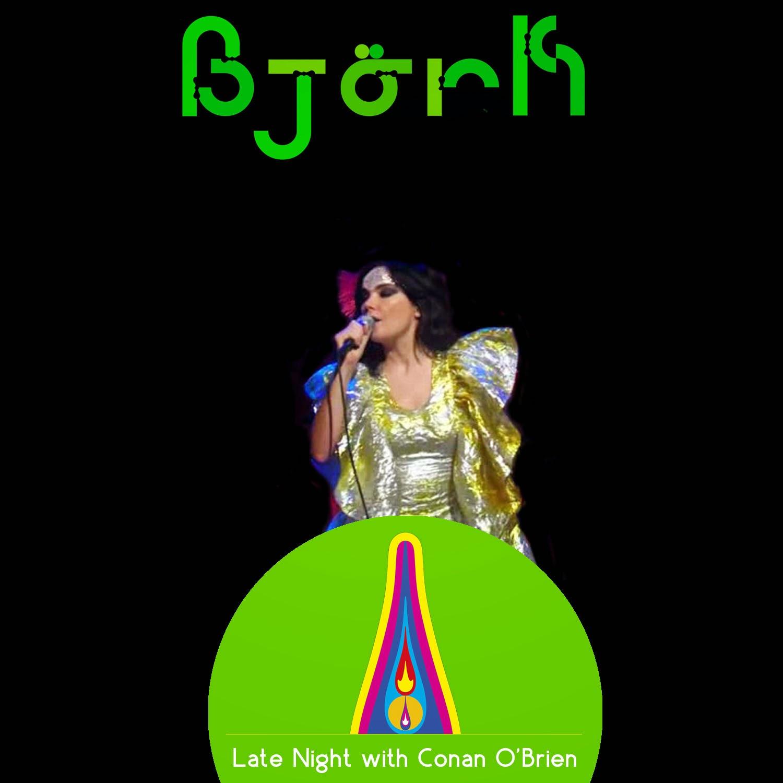 björk guðmundsdóttir: Björk - Live @ Tonight Show With ...