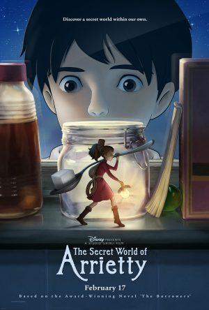 O Mundo dos Pequeninos  / Kari-gurashi no Arietti / The Secret World of Arrietty (FILME COMPLETO)