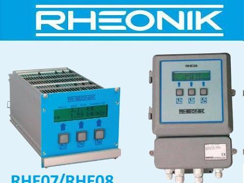 Coriolis Mass Flow Transmitter RHE07/08