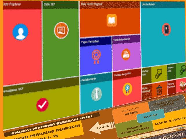 Download Kumpulan Aplikasi Untuk Guru Dengan Excel