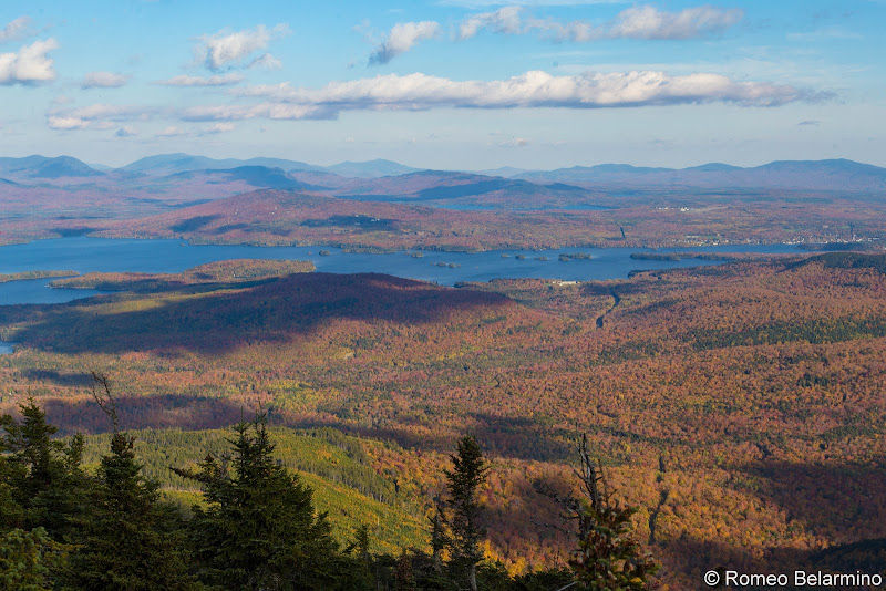Big Moose Mountain Summit View Maine Hiking Moosehead Pinnacle Pursuit