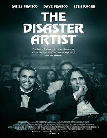 Poster Of Hollywood Film Watch Online The Disaster Artist 2017 Full Movie Download Free Watch Online 300MB