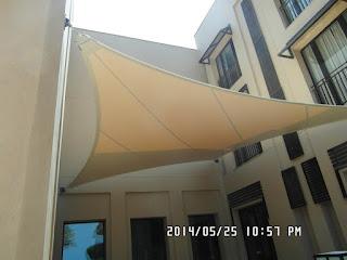 تركيب مظلات الشد الانشائي