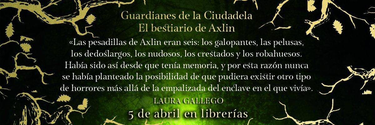 Guardianes de la ciudadela de Laura Gallego