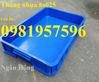 Thùng nhựa đựng linh kiện, thùng nhựa cơ khí, khay nhựa đặc giá rẻ tại Hà Nội