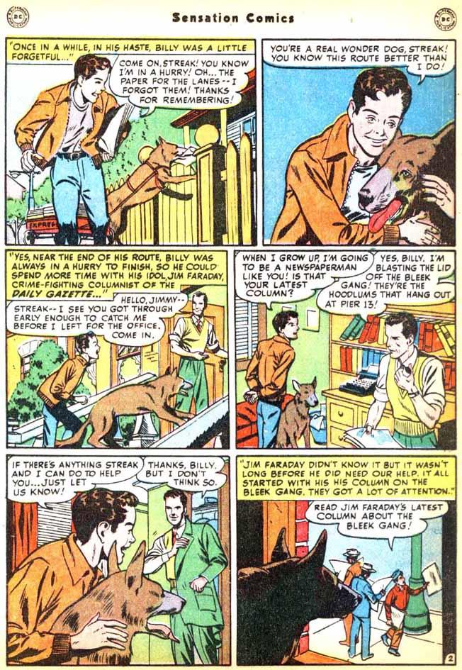 Read online Sensation (Mystery) Comics comic -  Issue #92 - 18