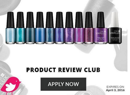 Chickadvisor Free CND Vinylux Weekly Polish Campaign