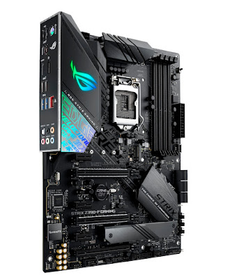 ASUS anuncia expansão de suporte de memória para motherboards Z390