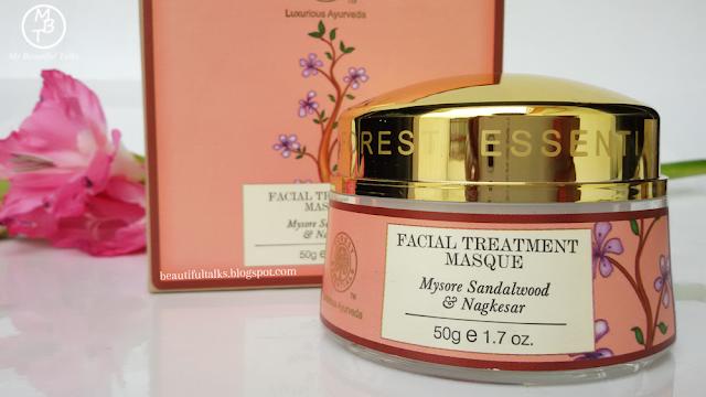 Forest Essentials FACIAL TREATMENT MASQUE NOURISHING Mysore Sandalwood & Nagkesar