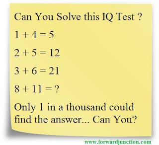 1+4=5 puzzle