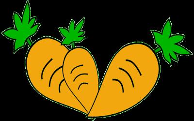 clipart wortel gratis