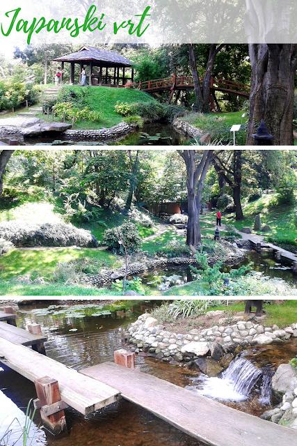 Japanski vrt u okviru Jevremovca
