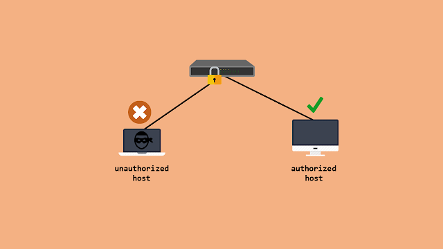ilustrasi port security