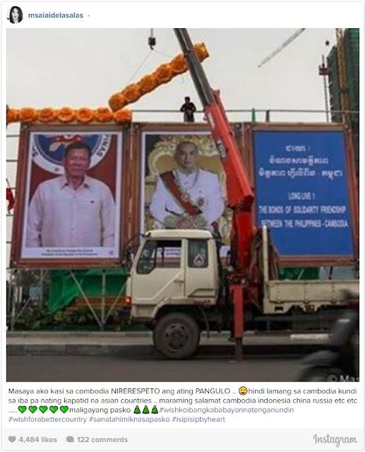 Ai-Ai Delas Alas Comments On President Rodrigo Duterte's State Visit In Cambodia. Read Her Statement Here!