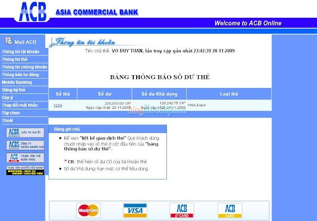 Đăng ký thẻ VISA Debit để Verify Paypal