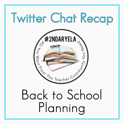 Back to School Planning from #2ndaryELA - PD You Want From The Teacher Community You Need!  #teaching #english #languagearts #middleschool #highschool