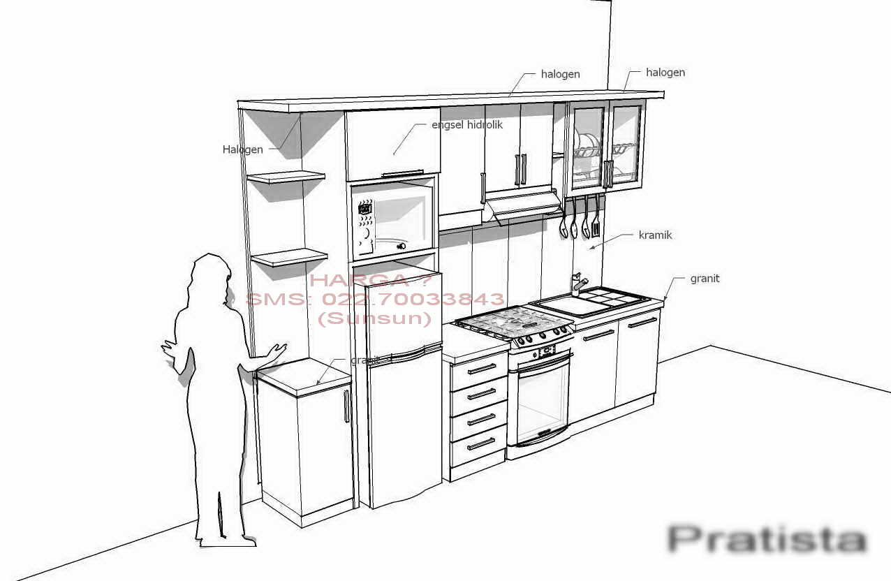 Image Result For Contoh Kitchen Set