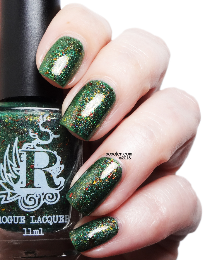 xoxoJen's swatch of Rogue Lacquer Cactus Country