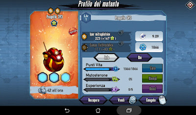 Mutants: Genetic Gladiators Breeding video N°476 (Project 3v3 - Robot # Progetto 3v3 - Robot) Gold - Oro