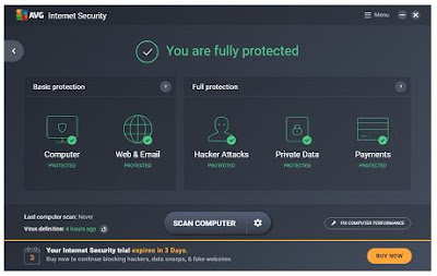 AVG Internet Security v17.3