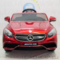 Mobil Mainan Anak Pliko Mercedes Bez AMG Coupe