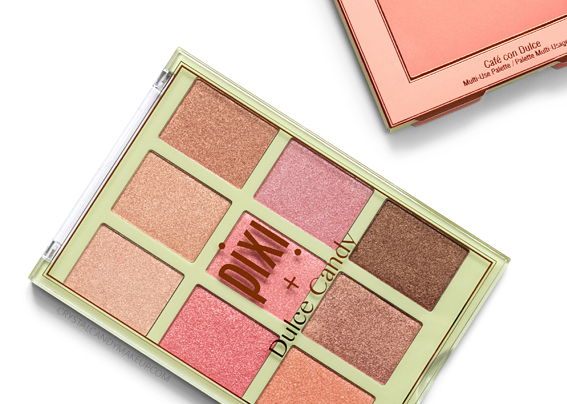 Pixi + Dulce Candy Café con Dulce Multi-Use Palette Review Photos Swatches