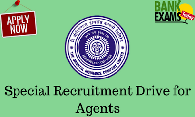 OICL: Special Recruitment Drive for Agents