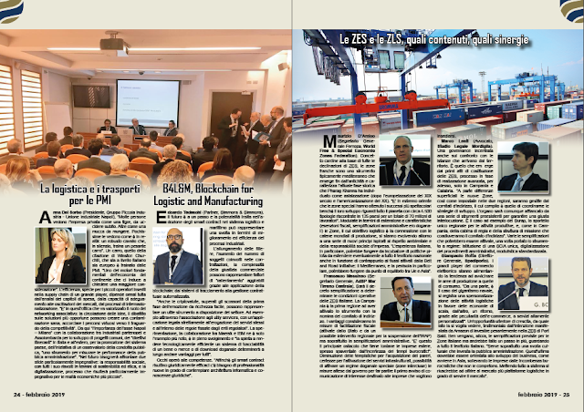 FEBBRAIO 2019 PAG. 24 - B4L&M, Blockchain for Logistic and Manufacturing