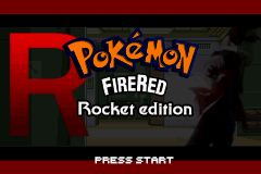pokemon firered rocket edition cover