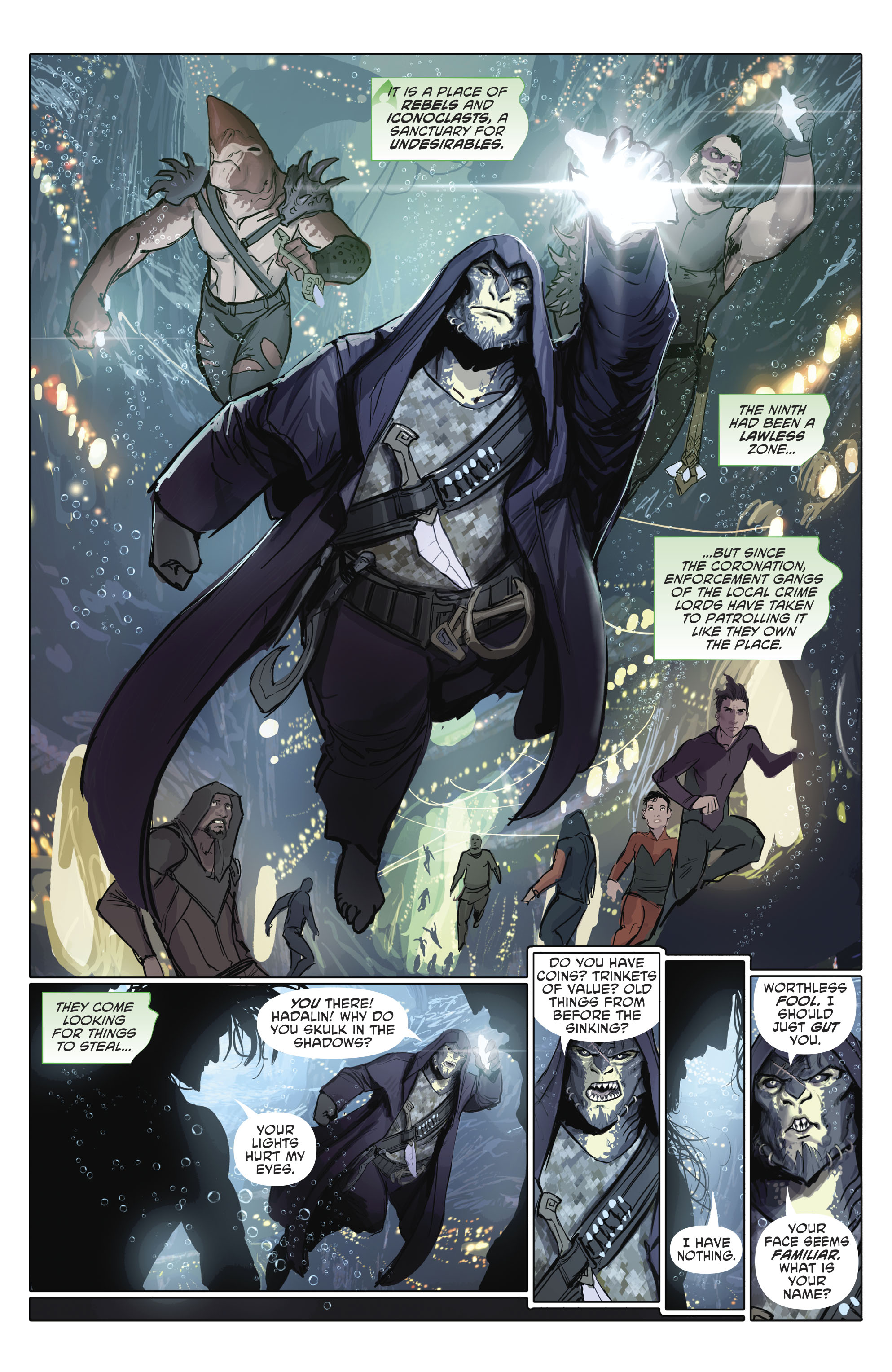 Read online Nightwing (2016) comic -  Issue #23 - 27
