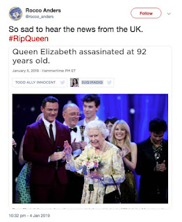 Outcry as trolls spread SICK hoax about Queen's death: 'RIP'