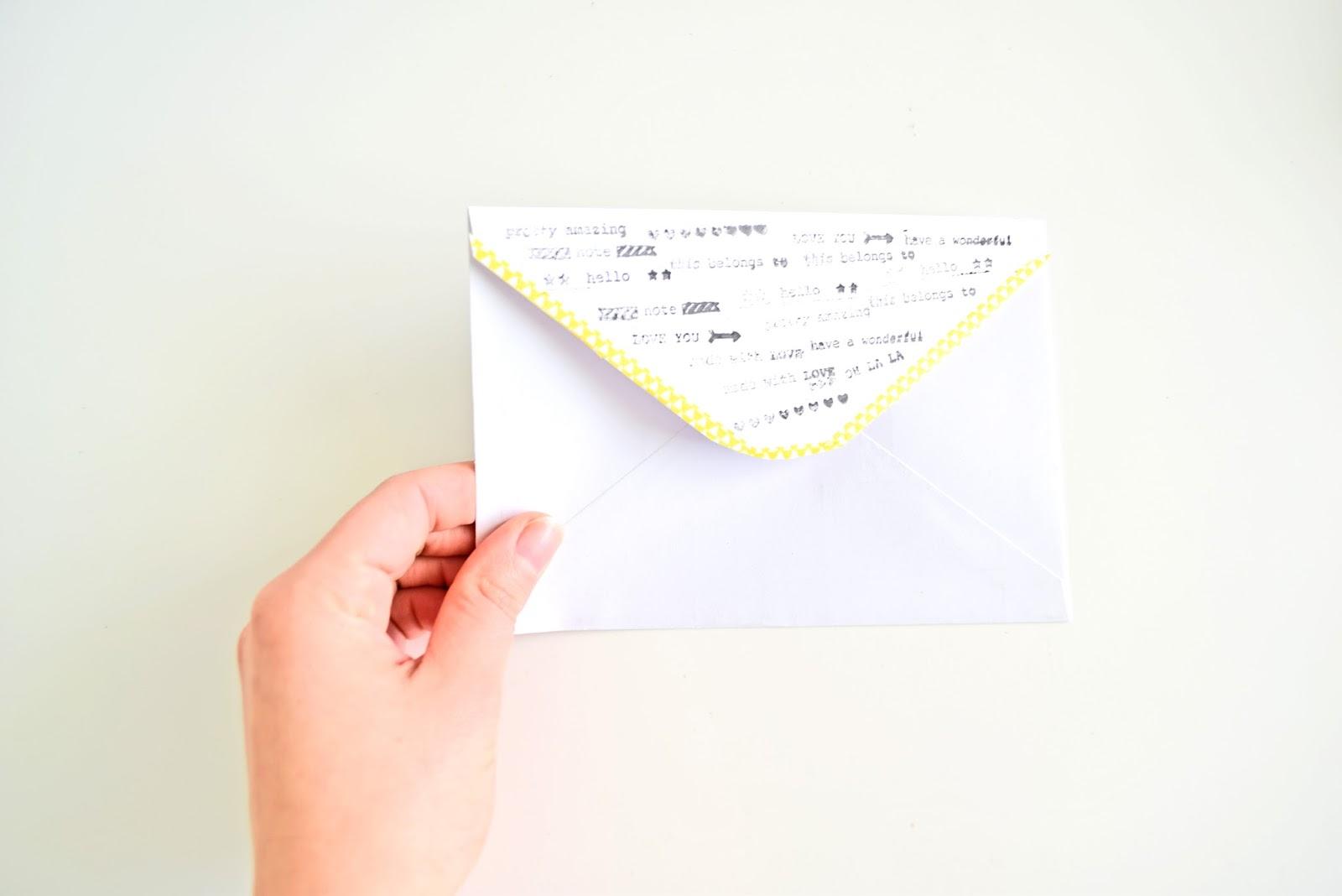 co zrobić z kopertą?