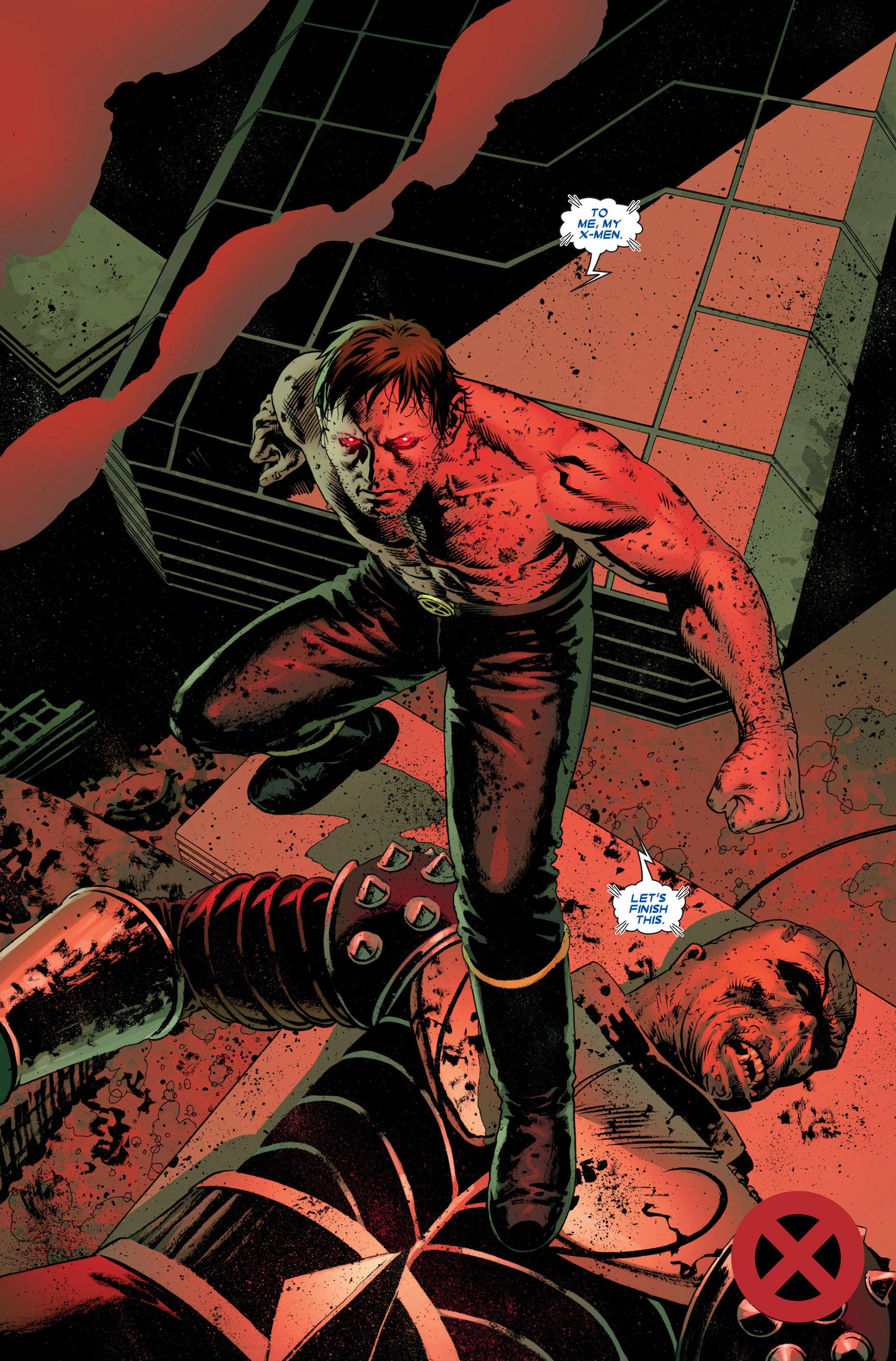 Read online Astonishing X-Men (2004) comic -  Issue #23 - 22