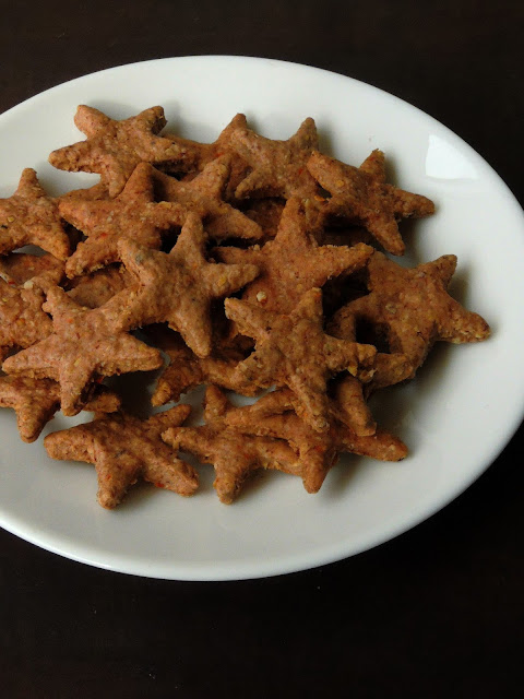 Vegan Ragi Biscuits